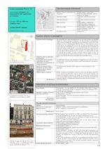 Description et analyse architecturales Plans actuels Rectangulaire : l'un des intérêts de cet ensemble réside dans le ressaut formé par l'immeuble du n°149. Ce ressaut se retrouve en symétrie en face au n°142 (voir vue ci-dessous). Elévation / nombre de travées (données extrêmes) De R + 1 à R + 2 (décroissance des hauteurs vers le nord) N°149, maison : 3 travées N°149, immeuble : 9 travées dont les deux latérales sud forment un ressaut N°147 : 4 travées Extensions / Modifications Aucune de notoire Façades éléments dominants Rythme Rythme régulier Gros œuvre et parement / Mise en oeuvre Matériaux visibles : enduit ciment (pignons et gouttereaux) N°147 : meulière en soubassement Modifications Enduit ciment Ouvertures (portes, fenêtres) N°149, maison : les ouvertures du RDC ont disparu avec l'implantation d'une très vaste devanture de café, trois baies rectangulaires à R+1. N°149, immeuble : au RDC une porte charretière au centre, des devantures de commerce et une porte piétonne simple. N