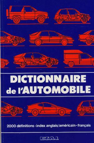 calam o dictionnaire de l 39 automobile 1986. Black Bedroom Furniture Sets. Home Design Ideas
