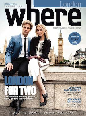WHERE LONDON FEBRUARY 2016