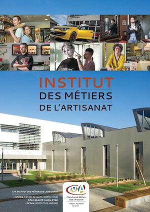 Calam o l 39 institut des metiers de l 39 artisanat for Chambre artisanat bordeaux