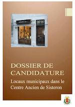 Dossier de candidature local municipal