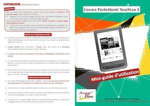 Mini Guide Utilisation Liseuses