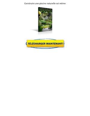 calam o livre construire une piscine naturelle gratuit pdf avis jean pierre garcia. Black Bedroom Furniture Sets. Home Design Ideas