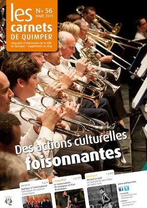 Les Carnets de Quimper n°56 - mars 2015