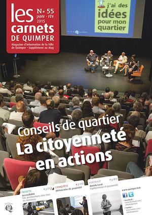 Les Carnets de Quimper n°55 - janvier/février 2015