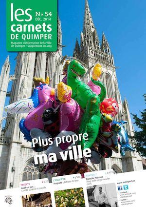 Les Carnets de Quimper n°54 - décembre 2014