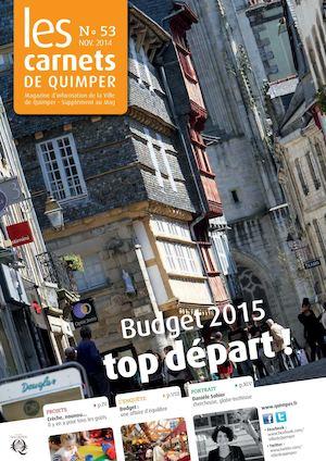 Les Carnets de Quimper n°53 - novembre 2014