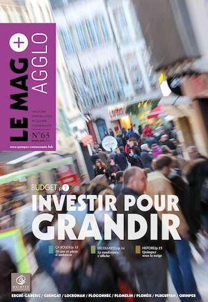 Mag+ Agglo n°63 - mars-avr. 2016