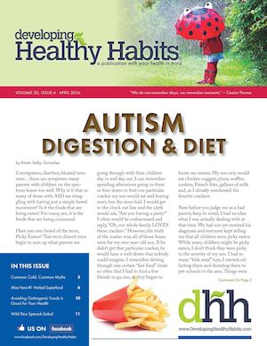Developing Healthy Habits - April 2016