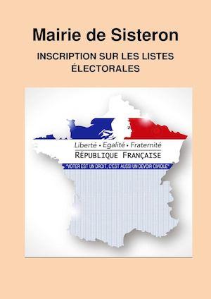 Mairie de Sisteron- INSCRIPTION SUR LES LISTES ÉLECTORALES