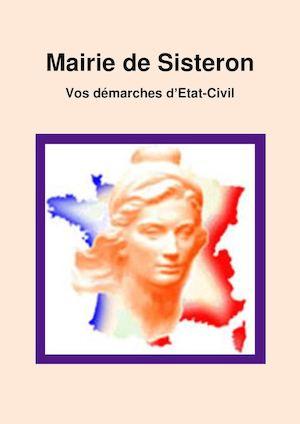 Mairie de Sisteron- vos démarches Etat-Civil
