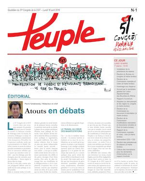 Le Peuple 18 avril