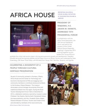 NYU Africa House Newsletter