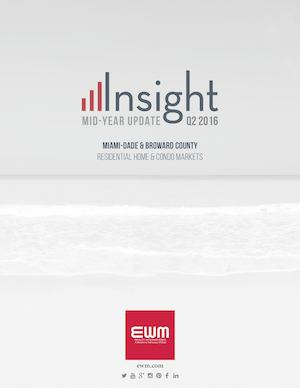 EWM's Insight: Mid-Year South Florida Real Estate Market Update 2016