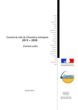 Contrat de ville chamb ry m tropole for Chambery metropole piscine