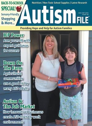 Autism File Magazine August-September 2016