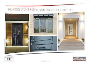 calam o catalogue portes d 39 entr e proferm. Black Bedroom Furniture Sets. Home Design Ideas