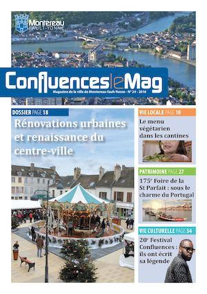 Confluences le Mag- Mag municipal - N°24