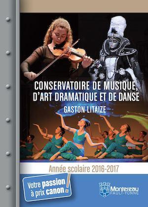Conservatoire - Saison 2016-2017