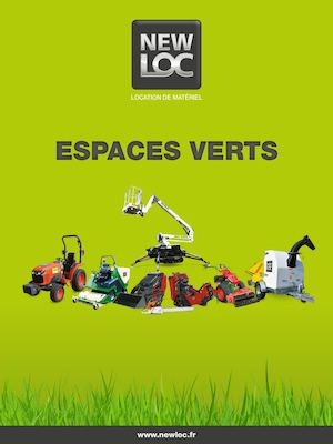Calam o plaquette espaces verts newloc for Agence espaces verts