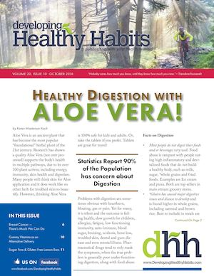 Developing Healthy Habits - October 2016