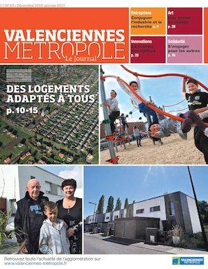 Valenciennes Metropole le journal 63
