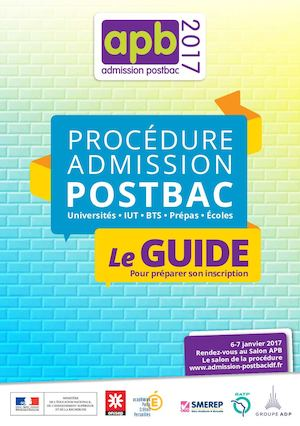 Guide Procedure Admission Postbac 2017