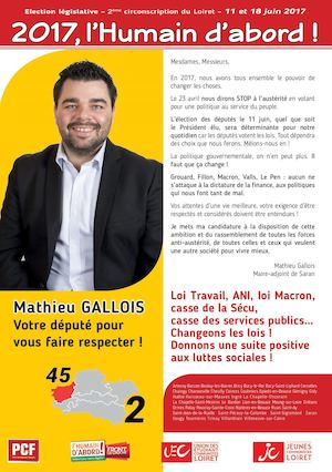 1er Journal Législatives 2e Circonscription