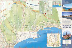 Calam o plan touristique de menton - Office du tourisme roquebrune cap martin ...
