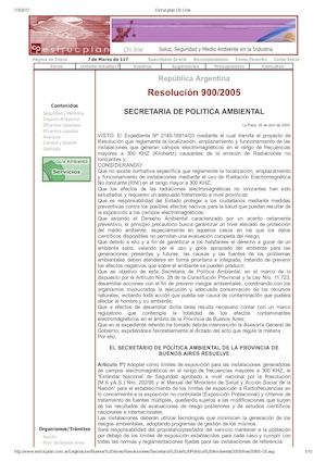 Resolución 900/2005
