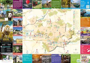 Calam o carte touristique 2017 office tourisme vallee du cher loire beauval version fran aise - Office tourisme chenonceau ...