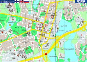Lappeenranta keskusta kartta