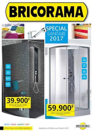 Calam o catalogue special sanitaire 2017 bricorama - Paroi de douche bricorama ...