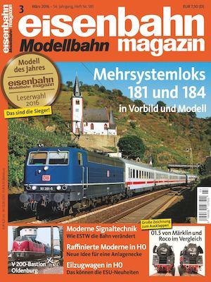 Calaméo - Eisenbahn Modellbahn Magazin 03 2016