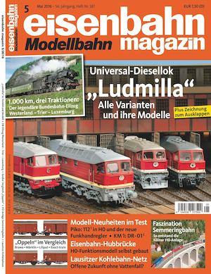 Calaméo - Eisenbahn Modellbahn Magazin 05 2016