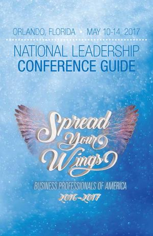 2017 BPA National Leadership Conference Program