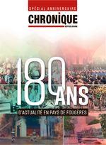 Une La Chronique 180 Ans