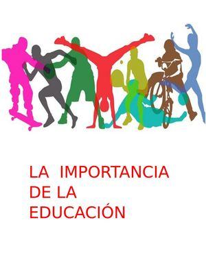 Calaméo - La Importancia De La Educación Fisica En Colombia