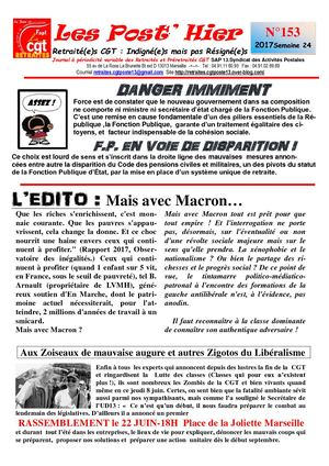 Les Post' Hier N 153