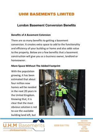 The Perfect Basement Conversion Service