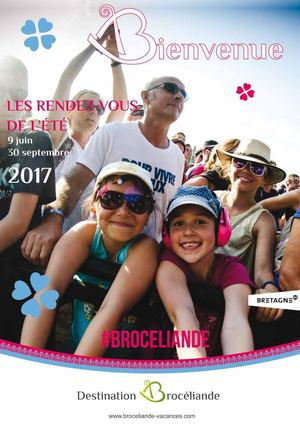 Agenda Destination Brocéliande 2017