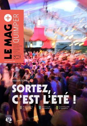 Le Mag+ Quimper n°71 - juill./août 2017
