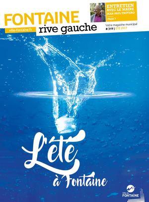 Fontaine Rive Gauche 319 Eté 2017