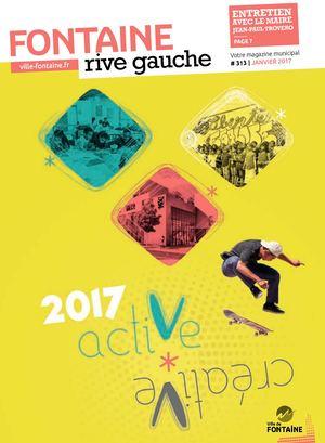 Fontaine Rive Gauche 313 Janvier 2017