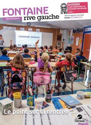 Fontaine Rive Gauche 310 Octobre 2016