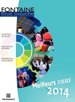 Fontaine Rive Gauche 280 Janvier 2014