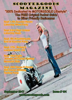 Scootergoods Magazine Sept 2017  #162
