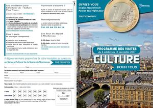Programme Culture Pour Tous 2017