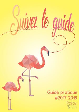 Guide Pratique 2017/2018