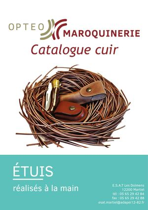 Catalogue étuis cuir